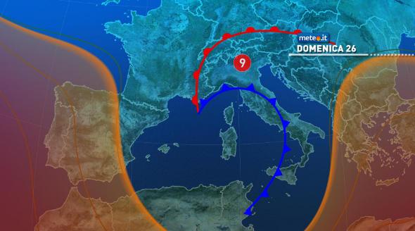 Domenica nuove piogge e temporali | NEWS METEO.IT