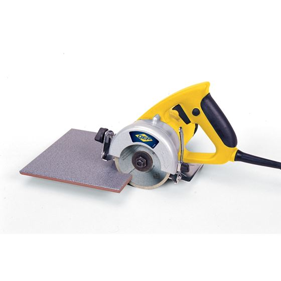 qep 21643q 1 5 hp professional handheld tile saw with wet dry 4 in diamond blade