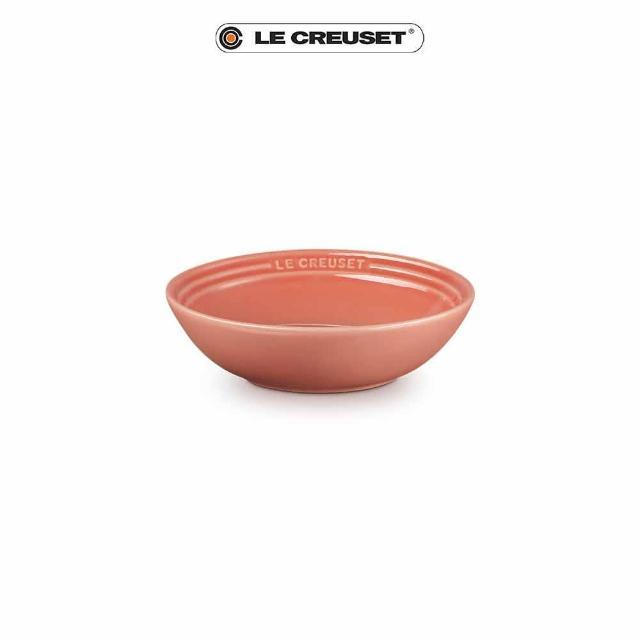 【Le Creuset】瓷器早餐穀片碗18cm(鮭魚粉)