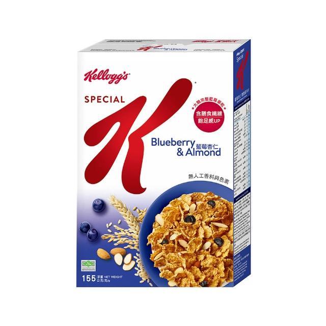 【家樂氏】Special K 香脆麥米片-藍莓杏仁155g(早餐麥片/穀片)
