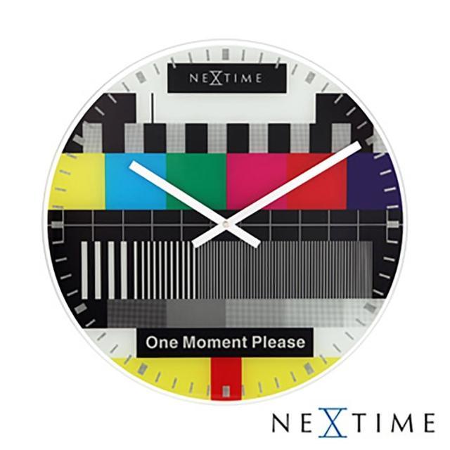 【歐洲名牌時鐘】NEXTIME-經典電視時鐘《歐型精品館》(簡約時尚造型/掛鐘/壁鐘)