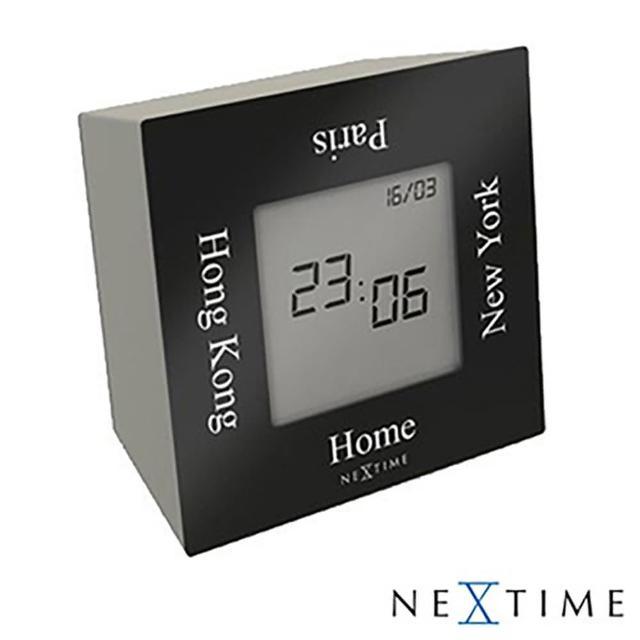 【歐洲名牌時鐘】NEXTIME-翻轉時區鐘《歐型精品館》(簡約時尚造型/掛鐘/壁鐘)