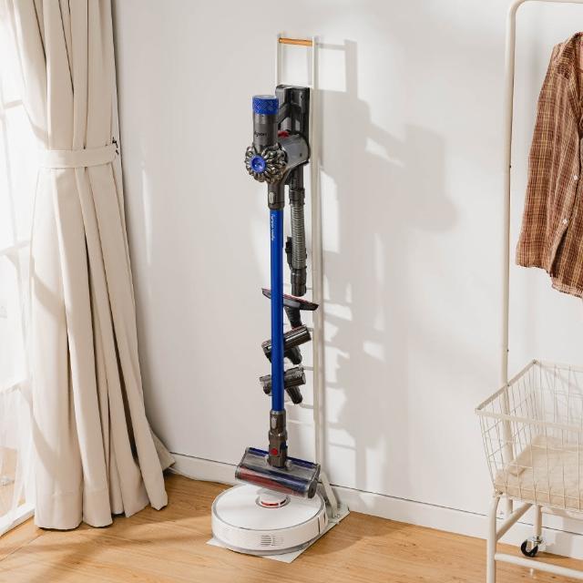 【樂嫚妮】多功能吸塵器/掃地機器人 收納架 Dyson V11 Samsung直立式 掛架 手持式