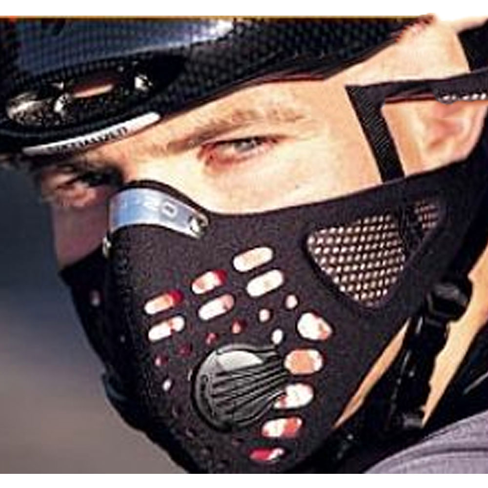 The Respro Sportsta mask combines Hepa-Type filtration performance ...