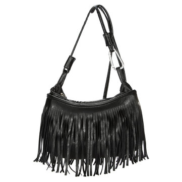 Women Tassels PU Leather Crossbody Bags