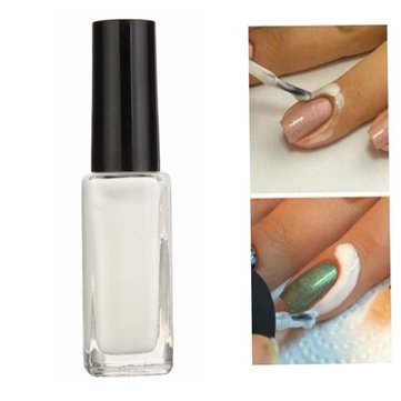 L Off Nail Polish Glue Latex Anti Overflow Lubricating Grease Finger Skin Protected