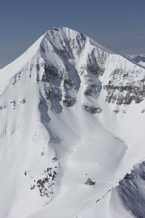 Sky Map Lodging Montana Big