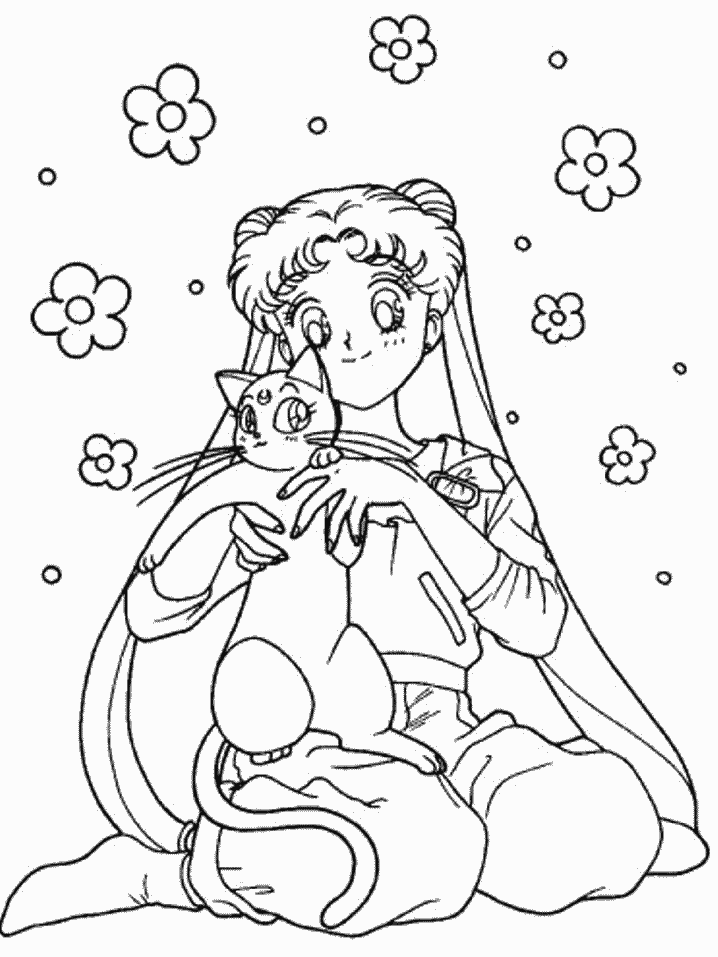 Sailor Moon Coloring Pages Png Free Sailor Moon Coloring Pages Png Transparent Images 137263 Pngio