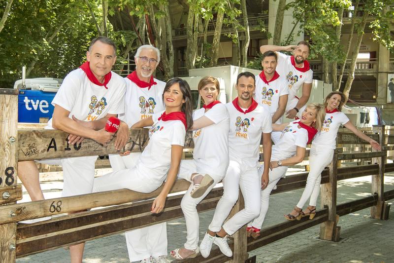 Equipo de Sanfermines de RTVE