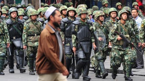 新疆沒有勞改營?中國官員一句話露餡(圖)|勞改營 | 新疆 | 衛星圖像 | 胡聯合 | 聯合國 | 即時新聞 | 看中國網