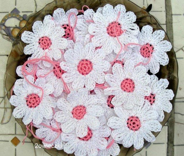 Wzory Na Szydelku Kwiatki