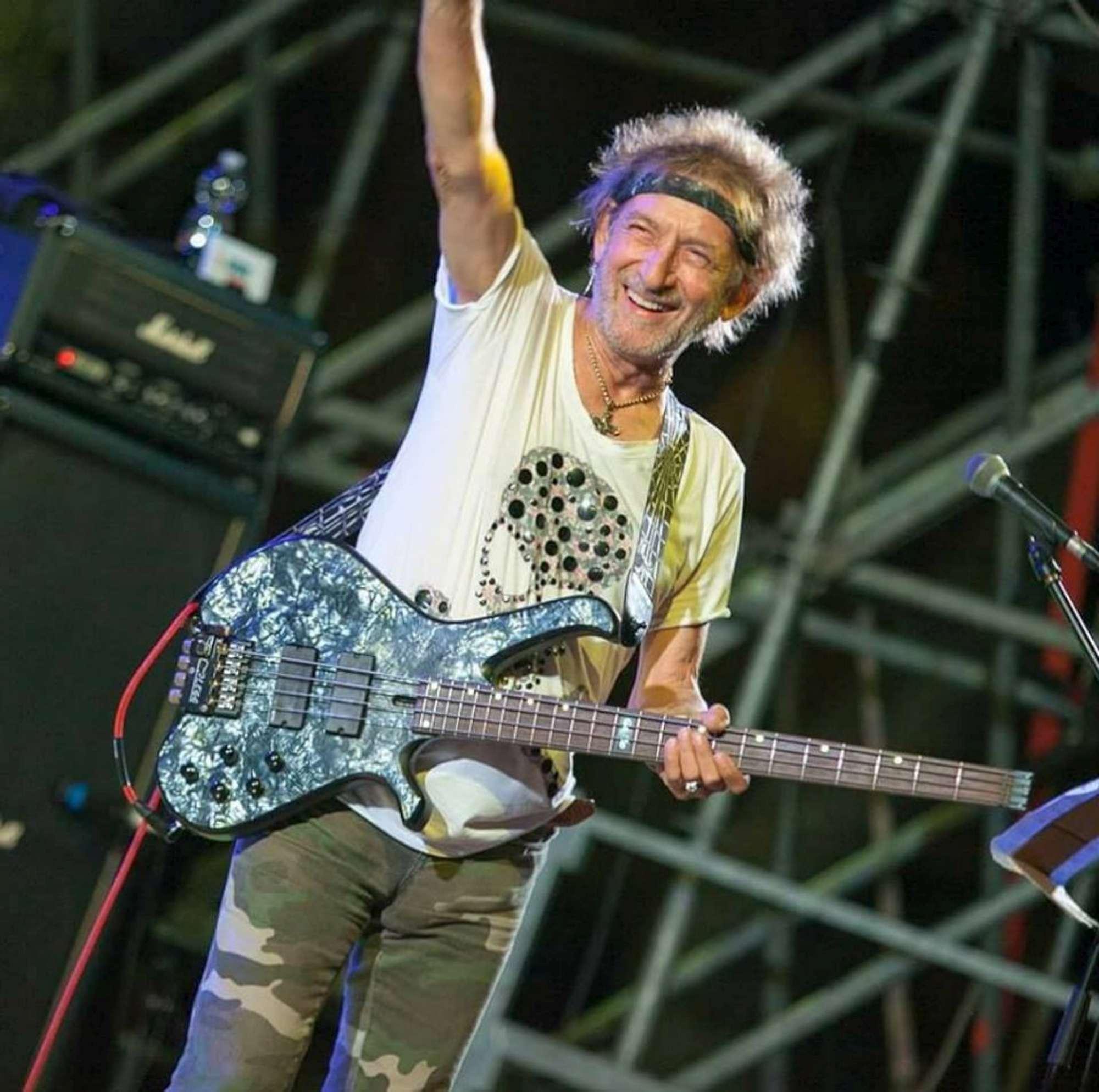 Claudio Golinelli, ricovero urgente per il bassista di Vasco Rossi