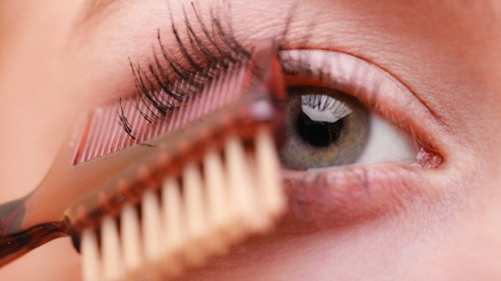 Image result for comb your mascara
