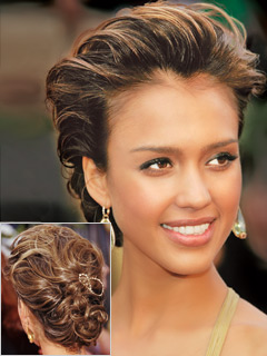 french twist  hair style