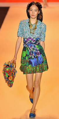 Anna Sui Spring 2009 Runway
