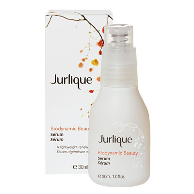 Jurlique, biodynamic beauty serum, green goods