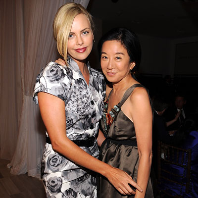 Fashion Week - Charlize Theron - Vera Wang