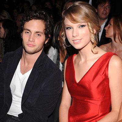 Penn Badgley and Taylor Swift