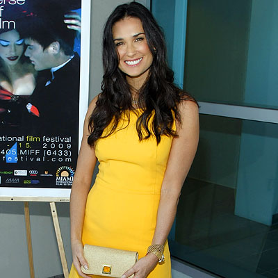 Demi Moore, Screening of Streak, Miami International Film Festival