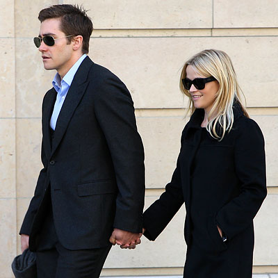 Reese Witherspoon, Jake Gyllenhaal, Sighting in Paris
