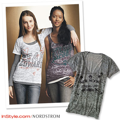 Exclusive New Moon Clothing Line from Nordstroms