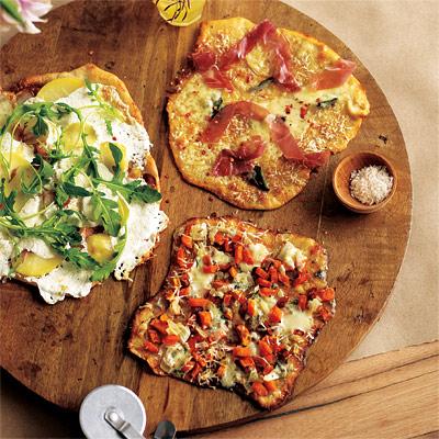 Potato, Arugula, Pecorino & Mozzarella Pizza