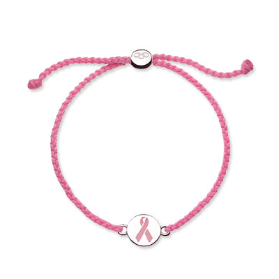 Links of London Pink Chord Bracelet