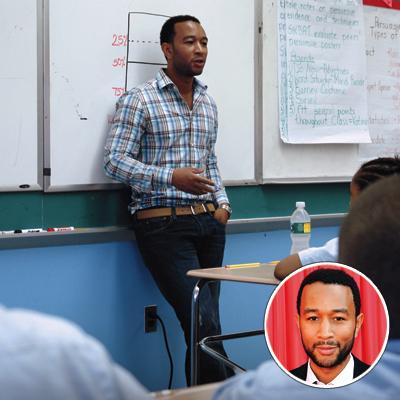 2010 Shining Stars - John Legend & Harlem Village Academies