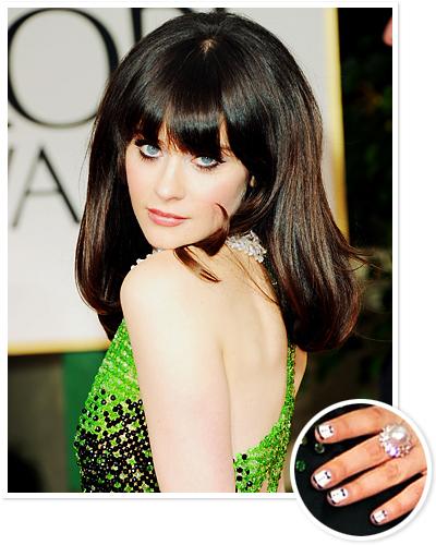 Best Manicure: Zooey Deschanel