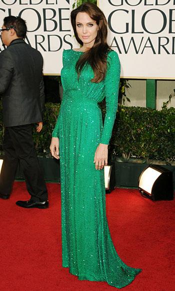 Golden Globes - Angelina Jolie - Versace