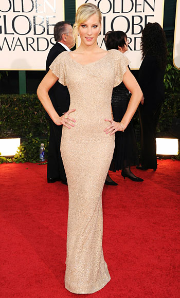 Heather Morris, Golden Globes 2011