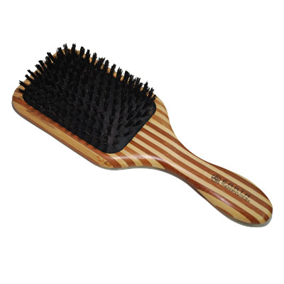 Earth Therapeutics Bamboo Natural Bristle Brush