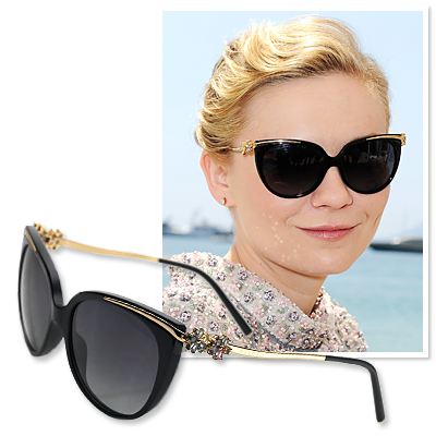 Kirsten Dunst - Bulgari - Summer Sunglasses