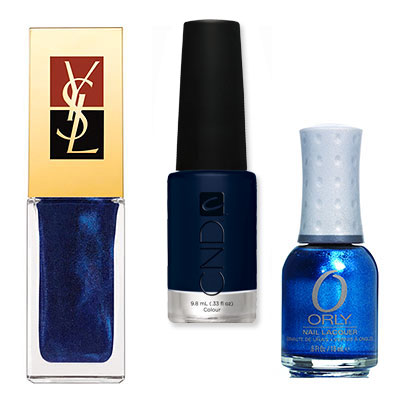 Sapphire - Which Nail Colors Will You Wear This Season? - Fall Nail Colors