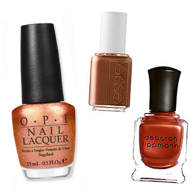 Copper - Which Nail Colors Will You Wear This Season? - Fall Nail Colors