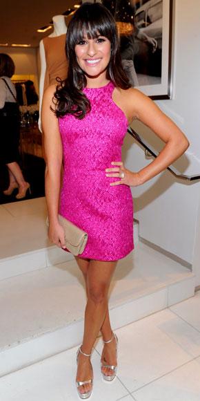 Lea Michele in Michael Kors
