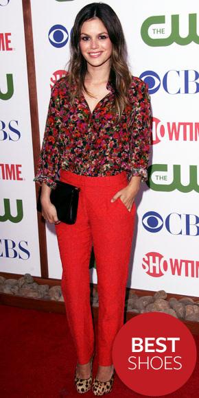 Rachel Bilson wearing Christian Louboutin