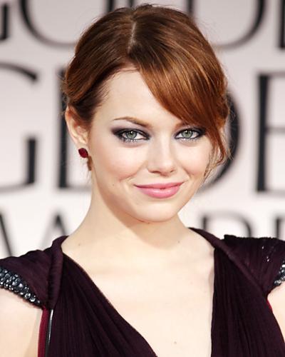 Best Smoky Eyes: Emma Stone
