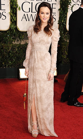 Leighton Meester, Golden Globes 2011