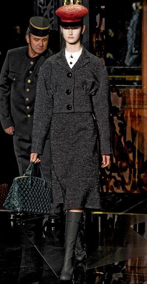 Louis Vuitton fall fashion show