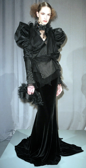 Marchesa fall fashion show