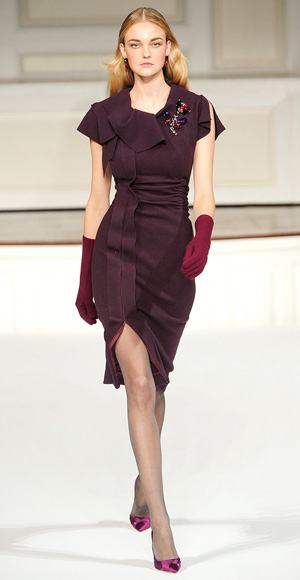 Oscar de la Renta fall fashion show