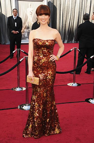 Ellie Kemper - Armani Prive - Oscars