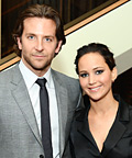 Jennifer Lawrence and Bradley Cooper's Playbook Moment, Plus More Parties!