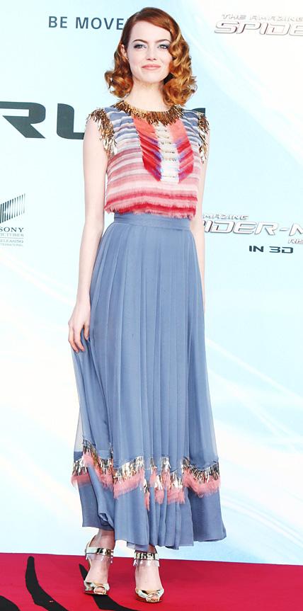 Emma Stone in Chanel