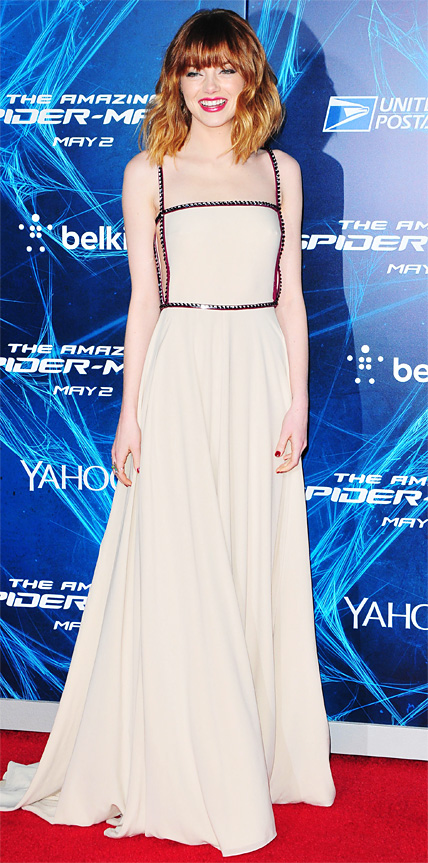 Emma Stone in Prada