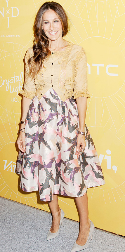 Sarah Jessica Parker in Alice + Olivia and Giles