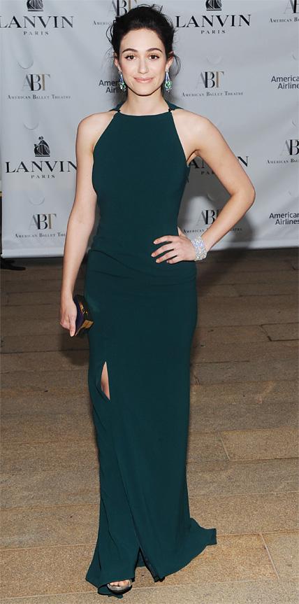 Emmy Rossum in Lanvin