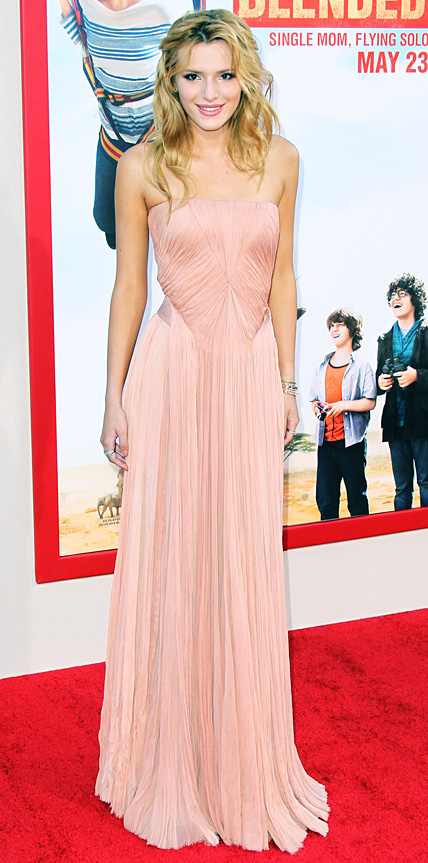 Bella Thorne in Zac Posen