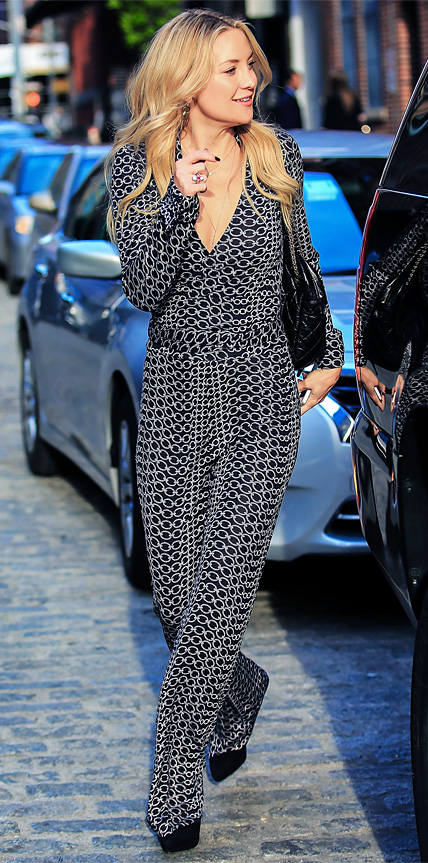 Kate Hudson in Diane von Furstenberg